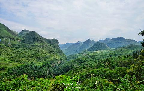 马岭河峡谷的图片
