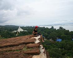 我爱缅甸 之 敏贡