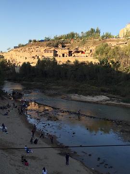 红石峡的图片