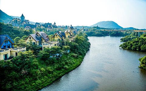 茶溪谷茵特拉根小镇的图片