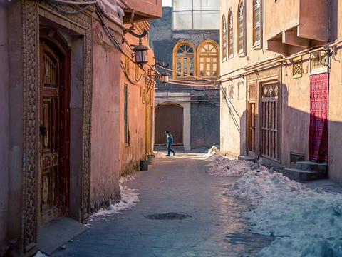 喀什老城旅游景点图片
