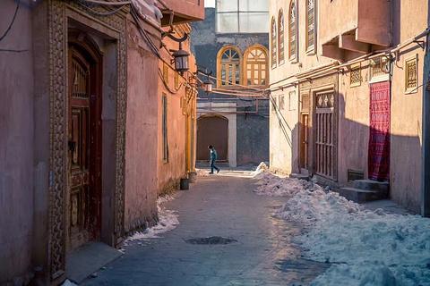 喀什老城的图片