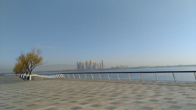 大同文瀛湖图片