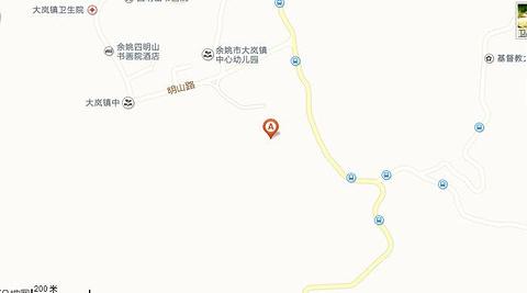 姚江源旅游景点攻略图