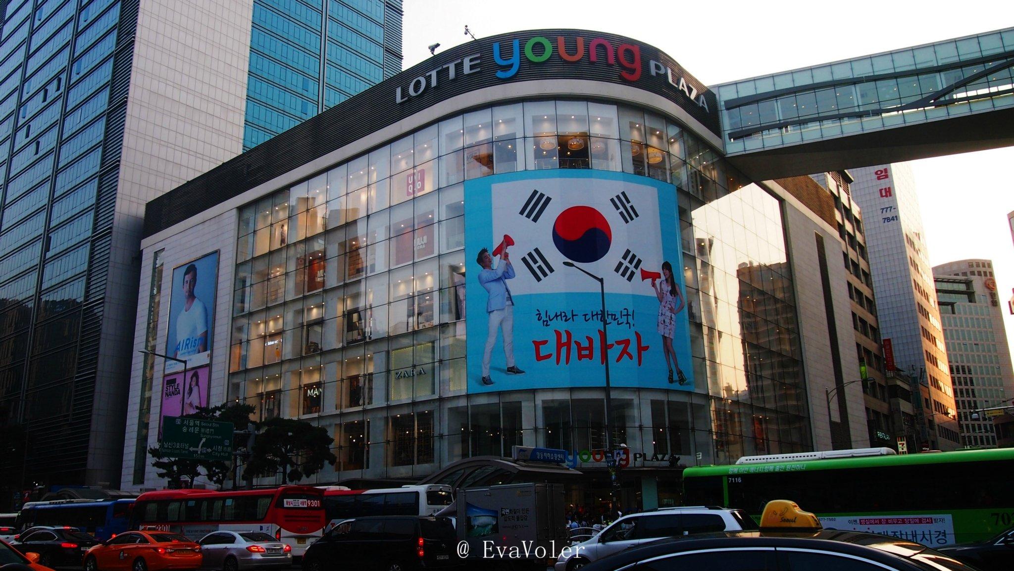 2019乐天百货 明洞总店 购物,因为MCM在韩国的专卖店非常的
