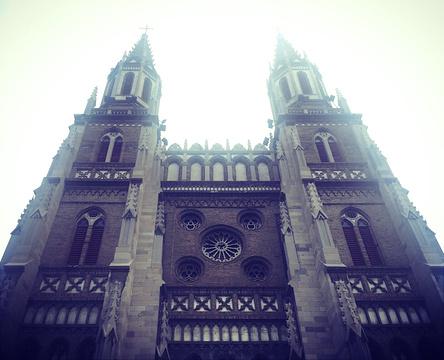 洪家楼天主教堂旅游景点攻略图