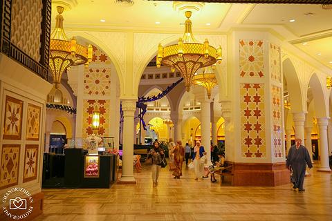 迪拜购物中心的图片