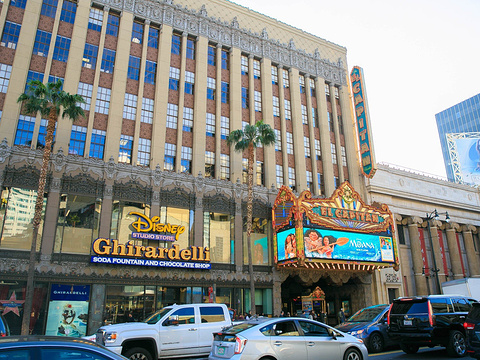 好莱坞星光大道旅游景点图片