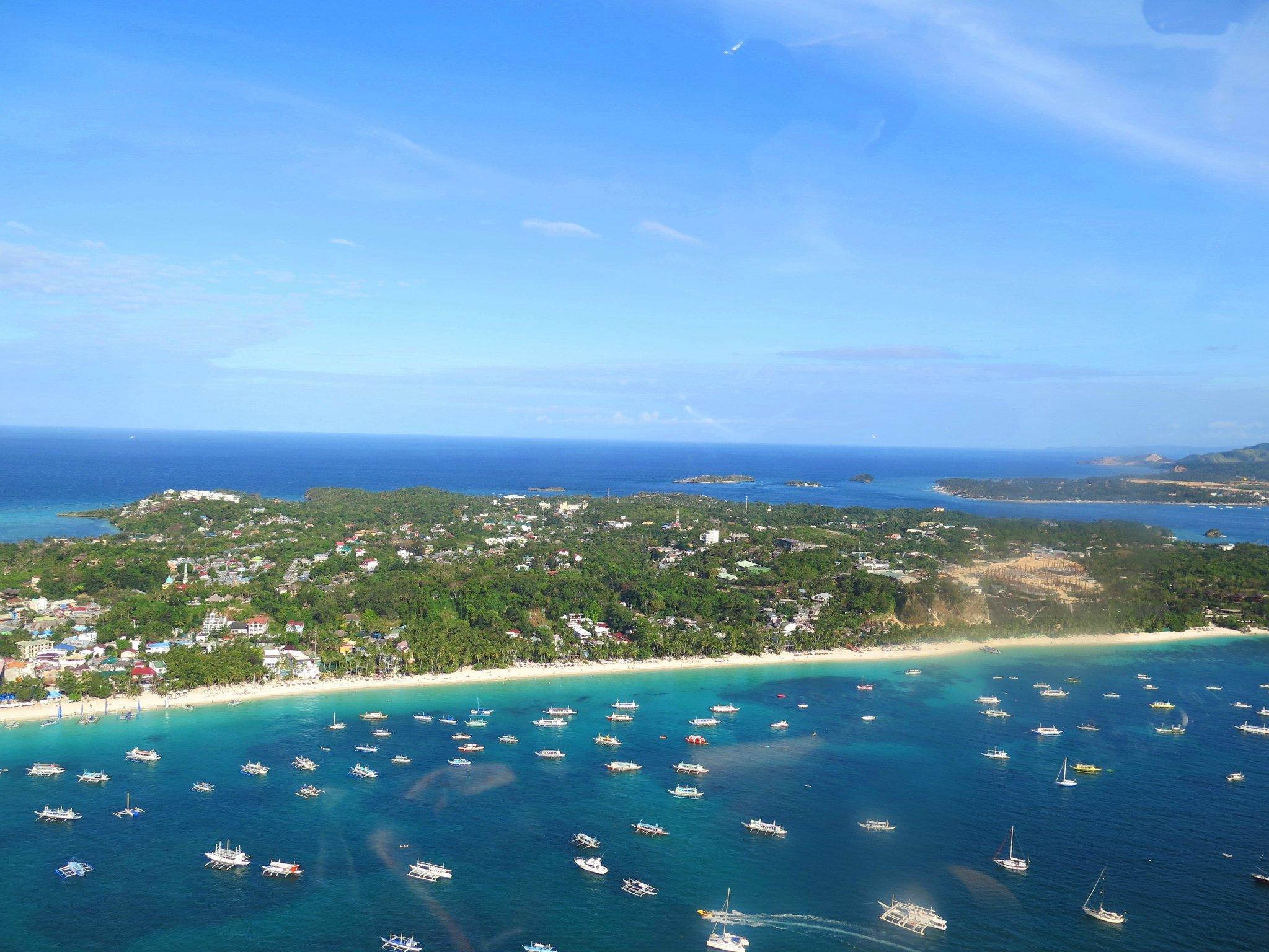 【菲.长.不靠谱Boracay】误机.Nami.直升机.潜水的长滩岛5日游