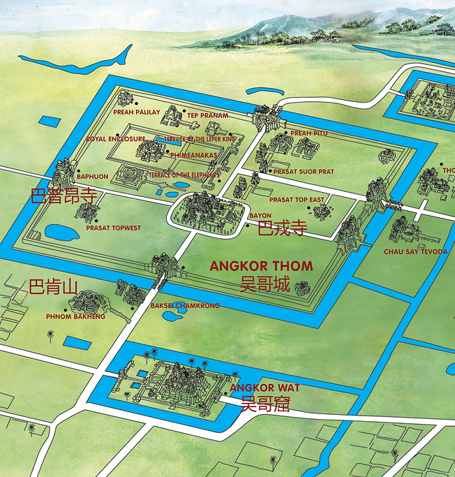 通王城旅游导图