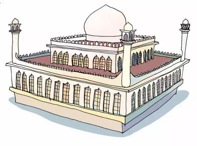 九龙清真寺图片