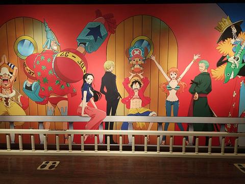 海贼王主题乐园旅游景点攻略图