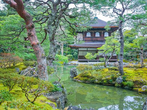 银阁寺旅游景点图片