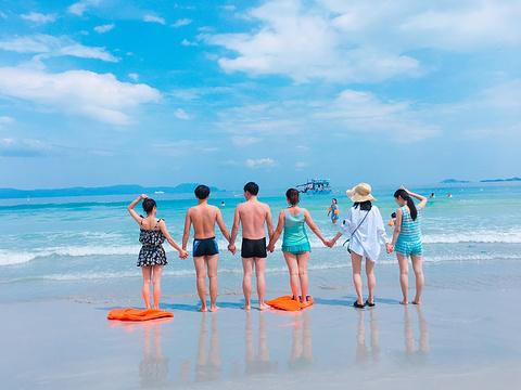 天堂湾旅游景点攻略图