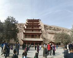 中国四大石窟集邮之旅--龙门石窟、云冈石窟、麦积山石窟-莫高窟石窟