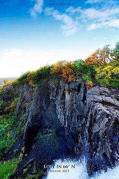 黑瀑布旅游景点攻略图