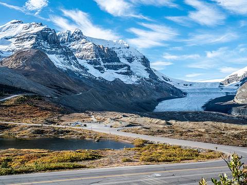 哥伦比亚冰原旅游景点图片