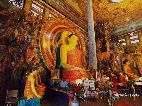 冈嘎拉马寺庙旅游景点图片