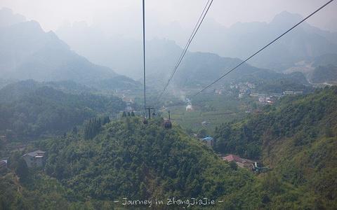 天门山索道旅游景点攻略图