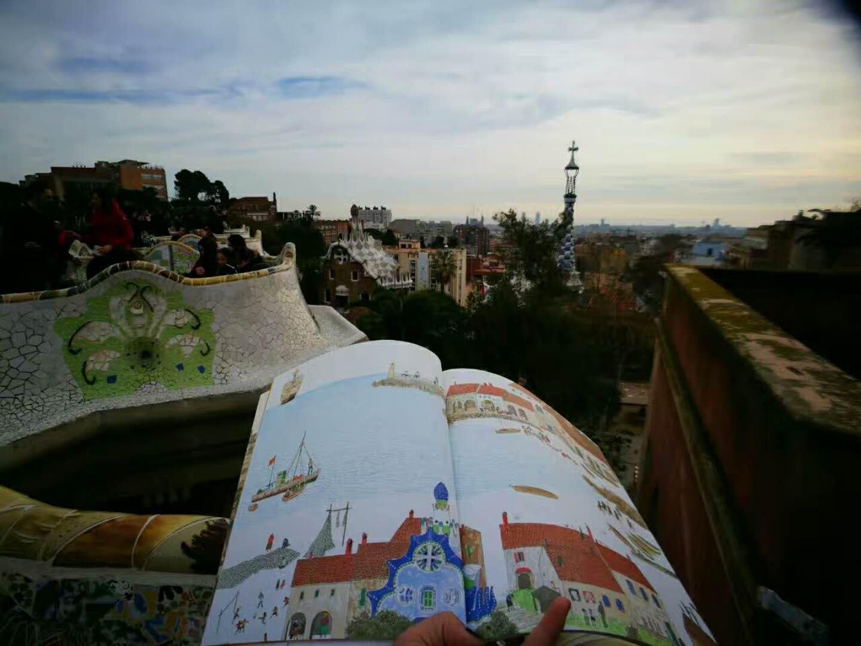【绘本之旅】三个人的巴塞罗那:自驾看球艺术建筑美食之旅