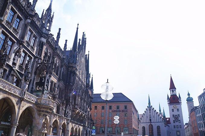 慕尼黑旧市政厅图片
