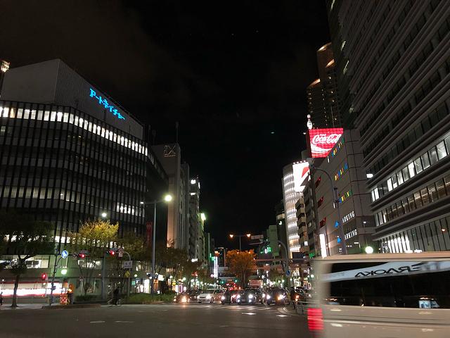 在大阪城公园站乘坐JR大阪环状线,就能到达大