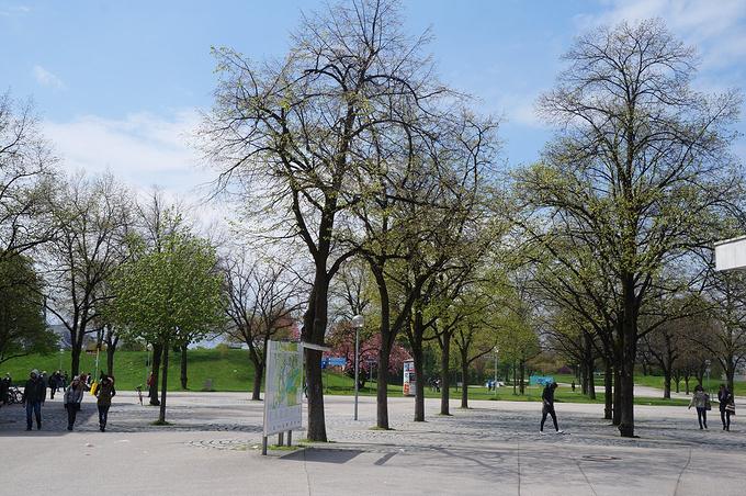 慕尼黑奥林匹克公园图片