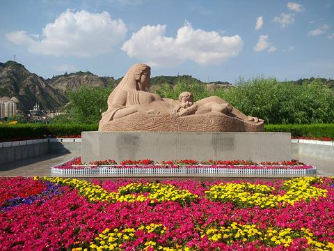 黄河母亲雕塑旅游景点攻略图