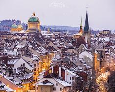 瑞士首都伯尔尼,你的奢华低调又古老