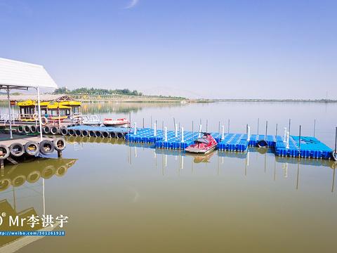 星海湖旅游景点图片