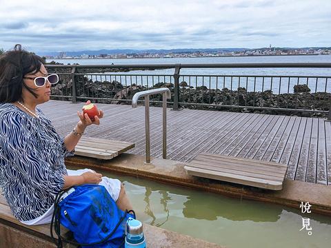 樱岛熔岩足浴公园旅游景点攻略图