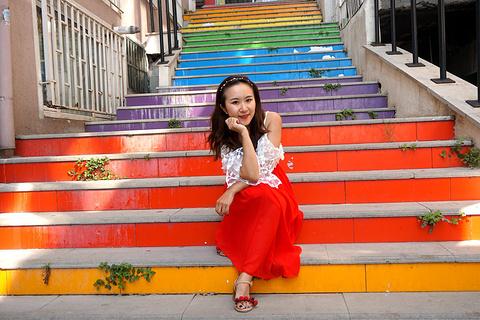 彩虹阶梯旅游景点攻略图