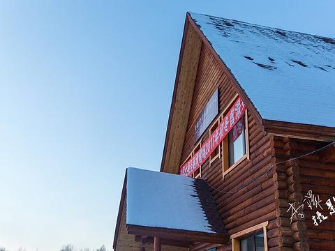 北极村圣诞滑雪场旅游景点图片