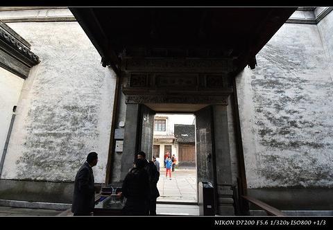张静江故居旅游景点攻略图