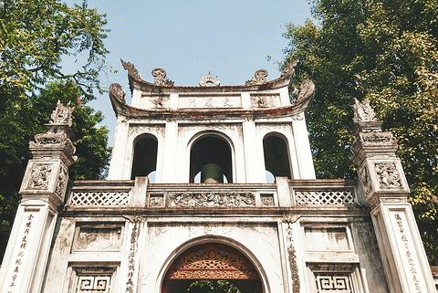 河内文庙旅游景点攻略图
