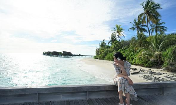 迷失在马尔代夫的碧海蓝天——马尔代夫哈达哈岛六天五夜蜜月旅行分享