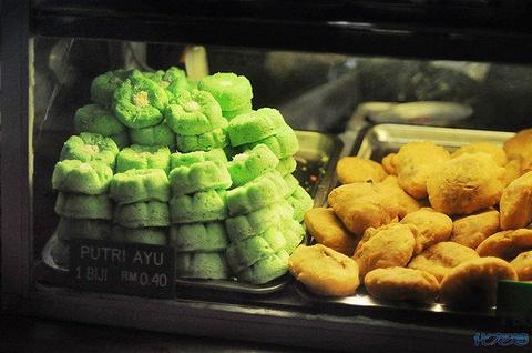 亚庇中央菜市场夜市旅游景点攻略图