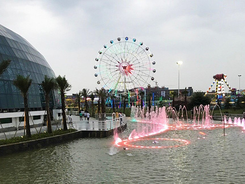 生态龙虾城游乐园旅游景点图片