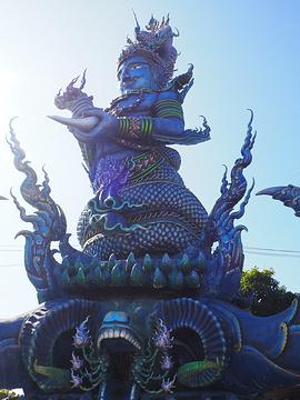 蓝庙的图片
