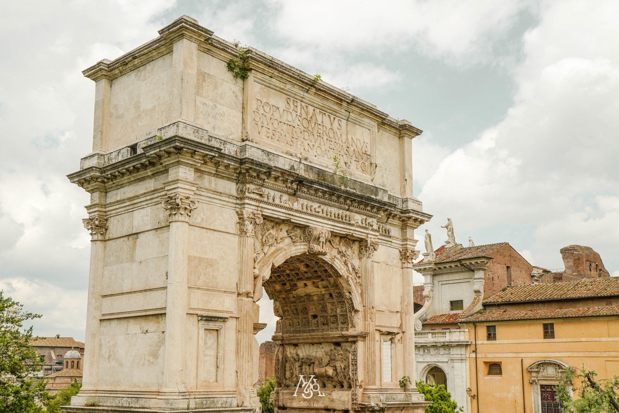罗马经典观光2日路线