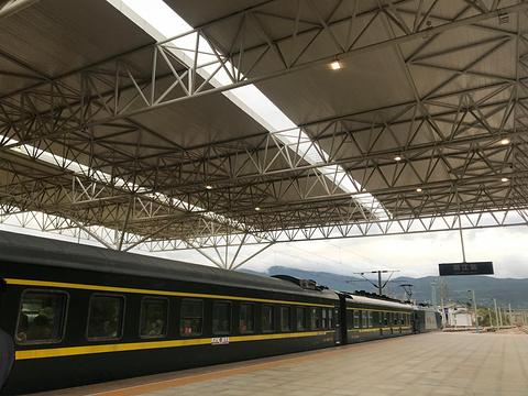 丽江火车站旅游景点攻略图