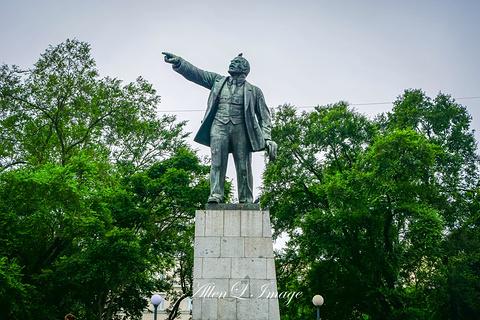 列宁纪念碑的图片