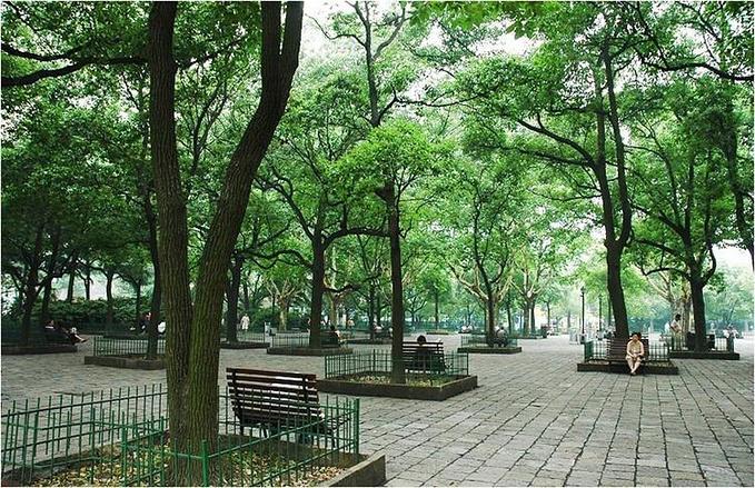 鲁迅公园图片