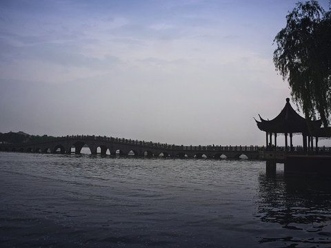 南湖秋月园旅游景点图片