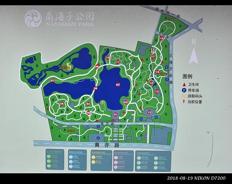 南海子郊野公园旅游景点攻略图