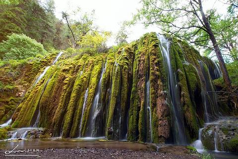 七彩瀑布旅游景点攻略图