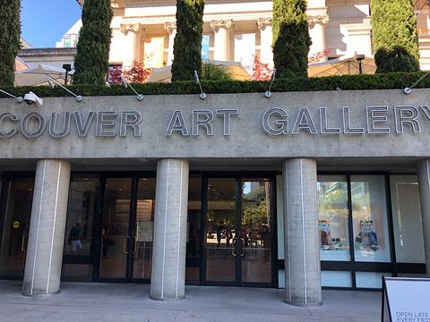温哥华美术馆旅游景点攻略图