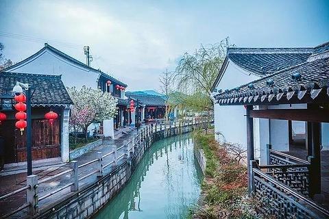 鸣鹤古镇旅游景点攻略图
