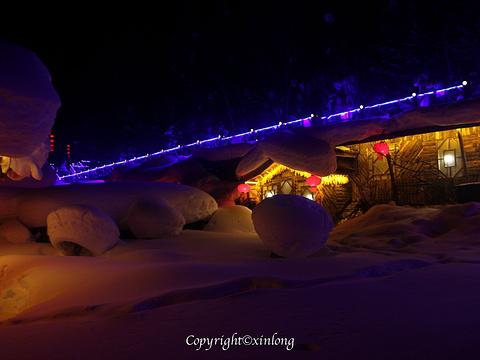 雪乡棒槌山观景台旅游景点图片