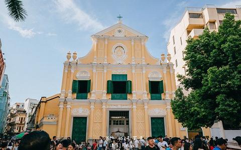 玫瑰圣母堂旅游景点攻略图